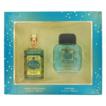 4711 by Muelhens Gift Set -- 3.4 oz Eau De Cologne + 3.4 oz After Shave for Men