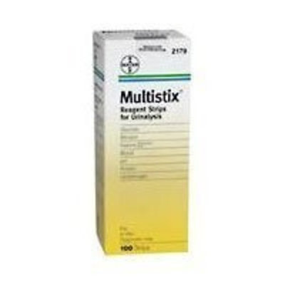Bayer Multistix Reagent Strips for Urinalysis - 100 Strips