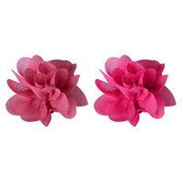 Remington Pink Flower Clips - 2 Count