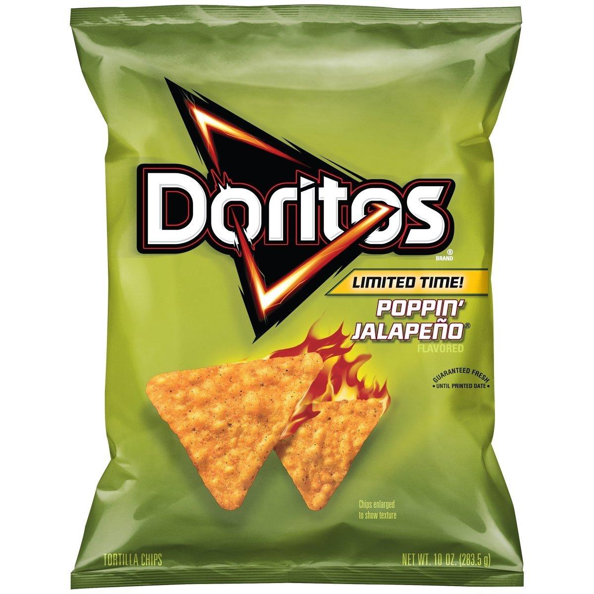DORITOS® Poppin' Jalapeno Flavored Tortilla Chips
