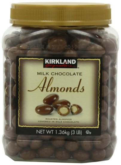 Kirkland Milk Chocolate Almonds