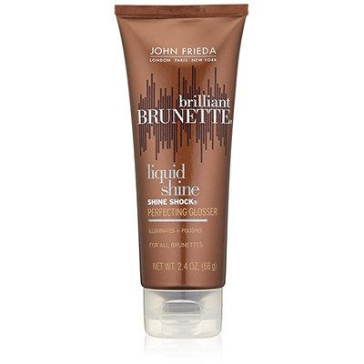 John Frieda® Brilliant Brunette Liquid Shine Shine Shock Perfecting Glosser