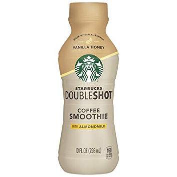 STARBUCKS DOUBLESHOT Coffee Smoothie with Almondmilk Vanilla Honey
