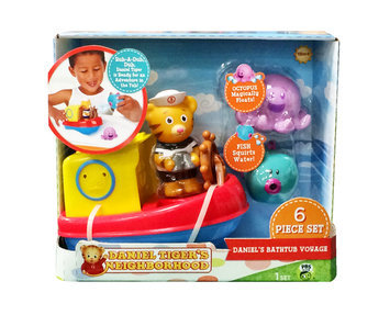 Daniel Tiger's Neighborhood Daniel Tigers Neighborhood Daniel's Bath Tub Adventure - TOLLYTOTS INC.