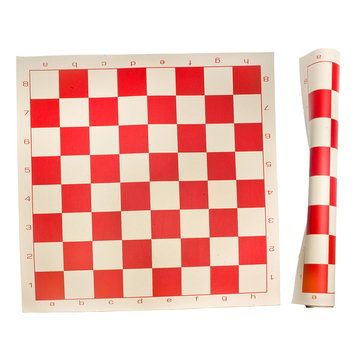 Sunnywood, Inc. Sterling Games Roll Up Chess Mat - Red