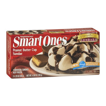 Weight Watchers Smart Ones Signature Sundaes Peanut Butter Cup Sundae - 2 CT