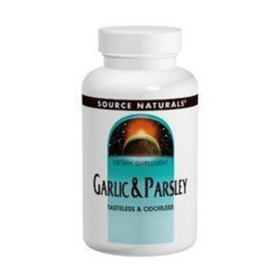 Garlic & Parsley Oil 500/100mg Source Naturals, Inc. 100 Softgel