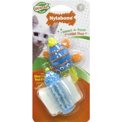 Nylabone Cat Dental Insert-A-Treat Dental Duo Treat Holder