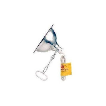 TRANS USA PRODUCTS INC. Trans Usa Products STN34806 with Reflector Ul listed Clamp Lamp for Aquarium Light, 5.5-Inch