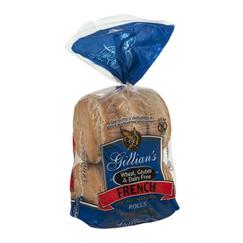 Gillian's Wheat, Gluten & Dairy Free French Rolls - 6 CT