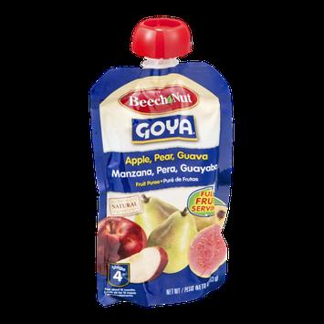 Beech-Nut® Stage 4 Goya Apple, Pear Guava Fruit Puree