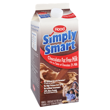 Hood Simply Smart Chocolate Fat Free Milk