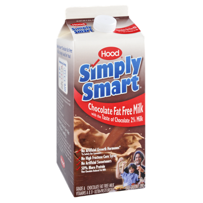 Hood Simply Smart Chocolate Fat Free Milk