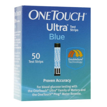 OneTouch Ultra Blue Test Strips - 50 Count