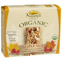 New England Naturals England Naturals Organic Maple Nut Chewy Granola Bar, 5-Count Bars (Pack of 6)