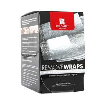 Red Carpet Manicure Remove Wraps LED Nail Gel Polish Removal Wraps