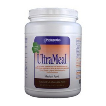 Metagenics UltraMeal Plus 360 Nutritional Drink, chocolote mint, 6.5 Ounce