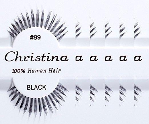 d0cb9969e98 Christina 100% Human Hair False Eyelashes #99 Reviews 2019