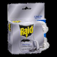 Raid Mouse Trap Press 'N Set Disposable - 2 CT
