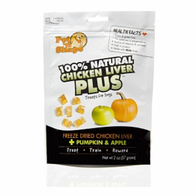 Pet 'n Shape 100% Natural Chicken Liver Plus Treats for Dogs
