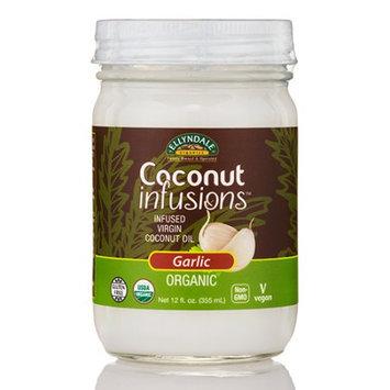 Coconut Infusions Garlic Ellyndale Organics 12 fl oz Glass Jar