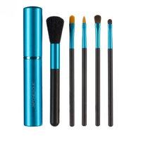 JAPONESQUE Touch Up Tube Brush Set, Blue
