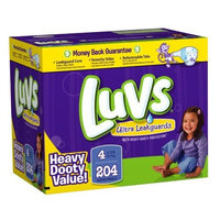 Luvs With Ultra Leakguards Big Pack Size 4 Diapers 96 Count