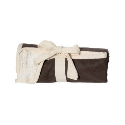JL Childress 100% Cotton Full Body Changing Pad, Brown