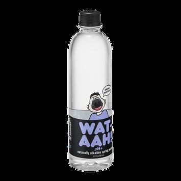 Wat-Aah! pH+ Naturally Alkaline Spring Water!