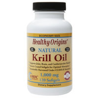 Healthy Origins Natural Krill Oil 1,000mg, Softgels