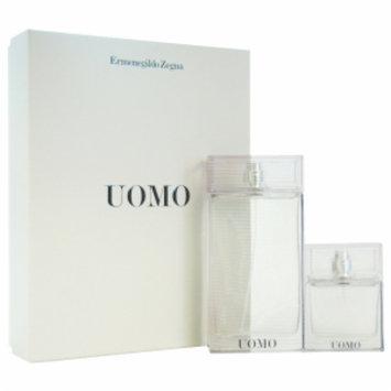 Ermenegildo Zegna Uomo Gift Set for Men, 2 Piece, 1 set