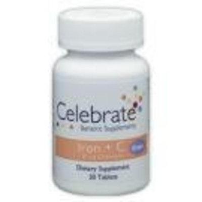 Celebrate Iron + C 30 mg Chewable Grape