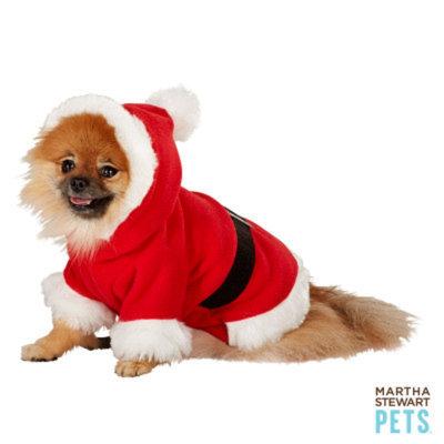 Martha Stewart PetsA Holiday Santa Jacket