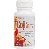 EZ Melts GojiMelts, 60 tablets Bottle