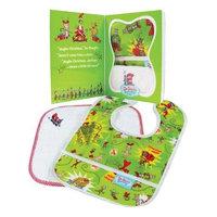 Bumkins Baby Gift Set - Bib/Washcloth - Dr. Seuss Grinch