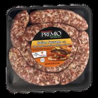 Premio Italian Sausage with Green Peppers, Provolone & Romano Cheese