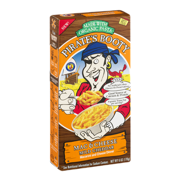 Pirate's Booty Mac & Cheese Mild Cheddar