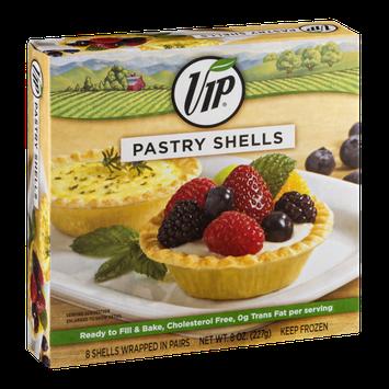 VIP Pastry Shells - 8 CT