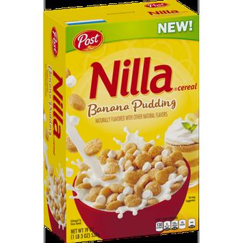 Nilla® Banana Pudding Cereal