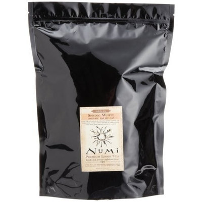Numi Tea Spring White, White Tea, Full Leaf, Loose Tea 16 oz bag