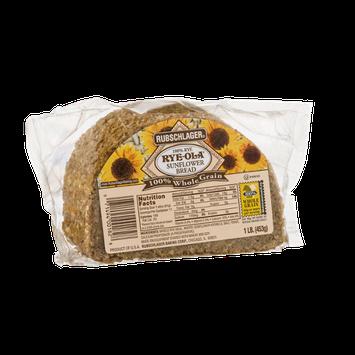 Rubschlager Rye-Ola Sunflower Bread