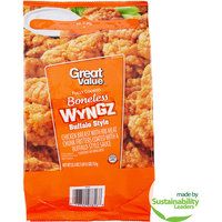 Great Value Buffalo Style Boneless Wyngz, 25.5 oz