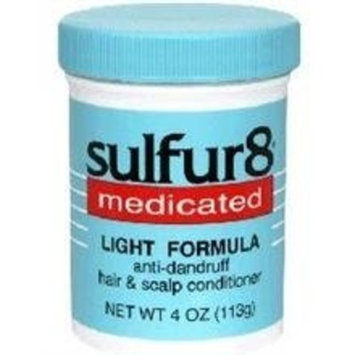 Sulfur 8 Sulfur-8 Medicated Light Formula, Anti-dandruff - 7.25 Oz