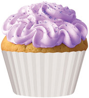Cupcake Creations Standard Baking Cups 32-pack - Natural White