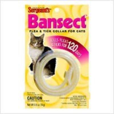 Sergeants Pet Care Bansect Flea & Tick Collar Cats