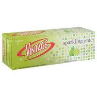 Vintage 144 oz. Lime Sparkling Water, Case Of 2