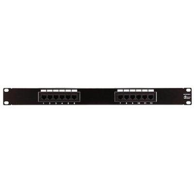 Monoprice Cat5 Enhanced Patch Panel 110Type 12 port (568A/B Compatible)