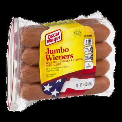 Oscar Mayer Jumbo Wieners - 8 CT