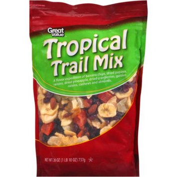 Great Value Tropical Trail Mix, 26 oz