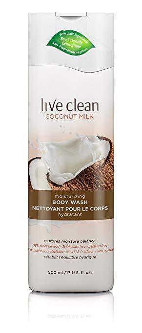 Live Clean Coconut Milk Body Wash